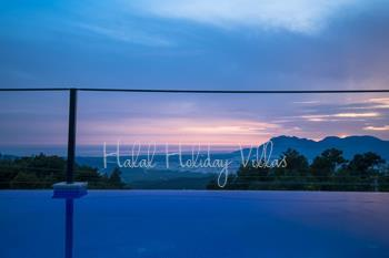 Honeymoon villa with panoramic view