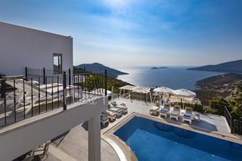 Luxury Villa in Kalkan With Breathtaking Sea Views