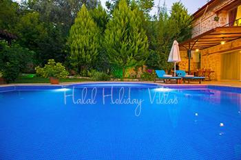 Secluded Holiday Villa in İslamlar With Private Pool and Land Views