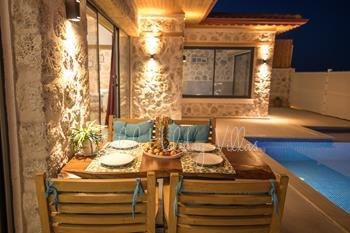 Secluded Private Seawiev Villa in Kalkan