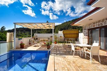 Secluded Honeymoon Villa in İslamlar Village of Kalkan
